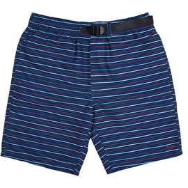 RIPNDIP Peeking Nermal Belt Shorts - Navy/Red