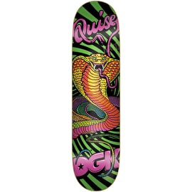 DGK Black Light Quise Skateboard Deck 8.06