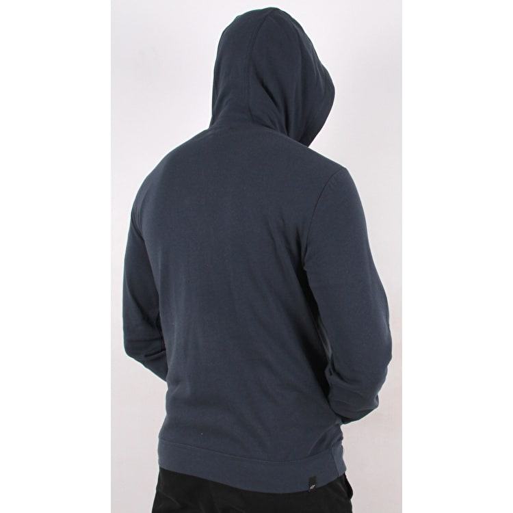 Alpinestars Skullision Fleece Hoodie - Navy/White