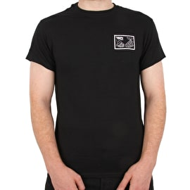 Doomsayers Snake Shake T Shirt - Black