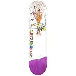 Anti Hero x Porous Walker Skateboard Deck - Hewitt 8.62
