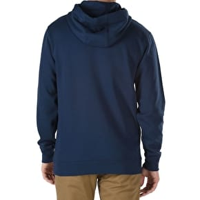 Vans OTW Pullover Fleece Hoodie - Dress Blues/White