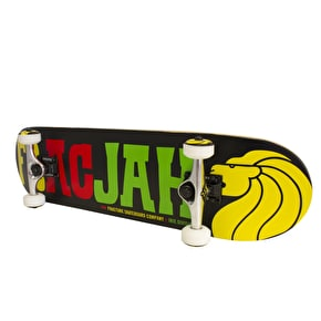 Fracture FracJah Mini Skateboard - Black 7.25