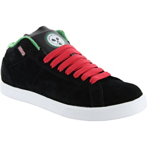 DVS Chico Mid Skate Shoes Black Suede Mayo - UK Size 7 (B-Stock)