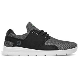 Etnies Scout XT Skate Shoes - Grey/Black/White