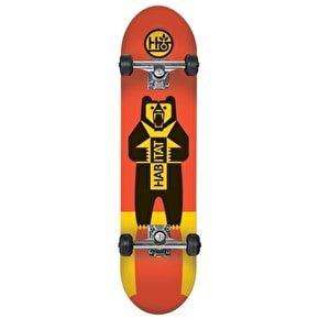 Habitat Skateboard - Grizz Red 8