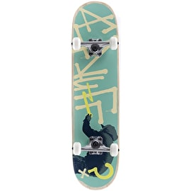 Enuff Tag Graffiti Mini Complete Skateboard - Green