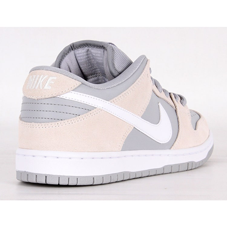 Nike SB Dunk Low Skate Shoes - Summit White/White/Wolf Grey