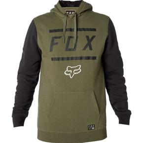 Fox Listless Pullover Fleece Jacket - Green