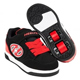 Heelys X2 Plus Lighted - Black/Red