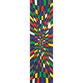 Grizzly Torey Rubix Skateboard Grip Tape - Multi