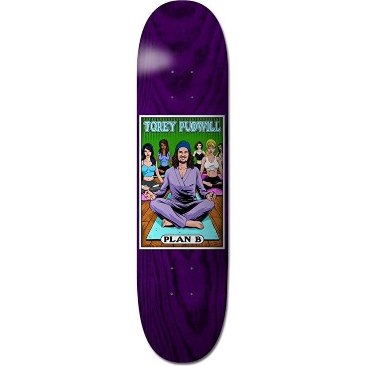 Plan B Alter Ego Skateboard Deck - Pudwill 8.25""