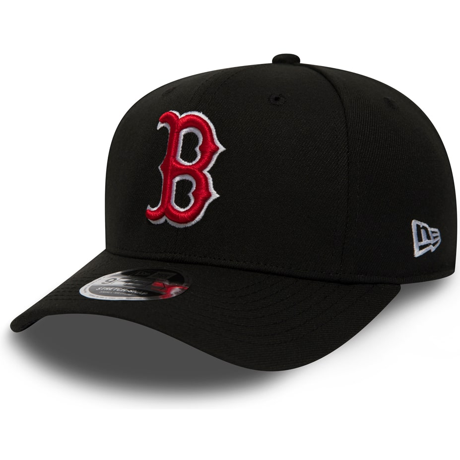 New Era Boston Red Sox MLB 9FIFTY Snapback Cap - Black 192859088817 ... 890ac4a2ee3