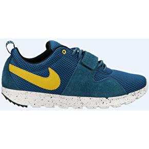 Nike SB Trainerendor Shoes - Night Factor/Varsity Maize