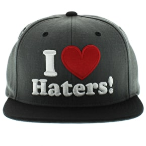 DGK Haters Cap - Charcoal Heather/Black