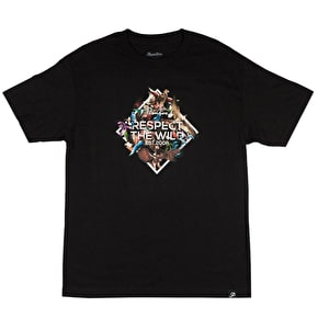 Primitive Feathers T-Shirt - Black