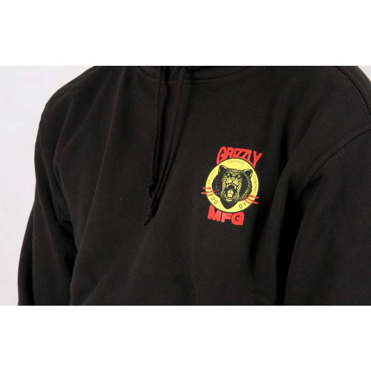 Grizzly Firecracker Pullover Hoodie