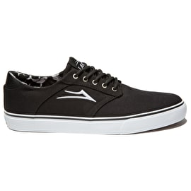 Lakai Porter Skate Shoes - Black Canvas