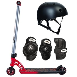 MGP VX7 Pro Red/Black Scooter Bundle