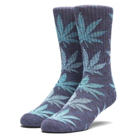 Huf Full Melange Plantlife Socks - Navy