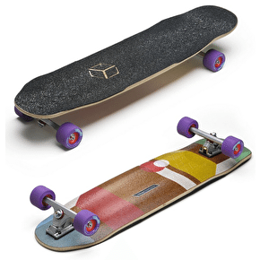 Loaded Cantellated Tesseract Longboard