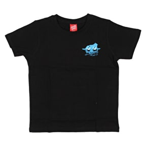 Santa Cruz Natas Small Kids T-Shirt - Black