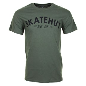 Skatehut Arch Kids T-Shirt - Military Green