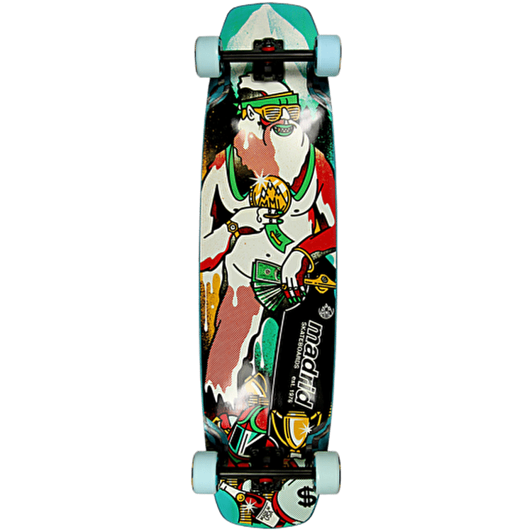 Madrid Freeride Yeti Longboard - 38.75""