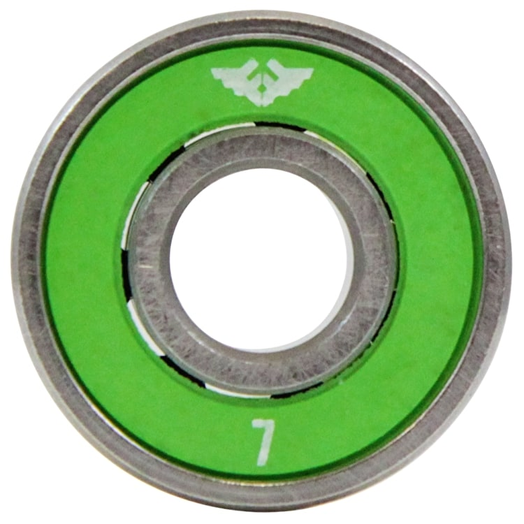 Fracture Premium Skateboard Bearings - Green ABEC 7