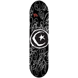 Foundation Star & Moon Yo! Skateboard Deck - 7.875