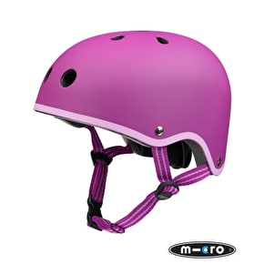 B-Stock Micro Safety Helmet - Berry - Medium (53-58cm) (Cosmetic Damage/No Box)