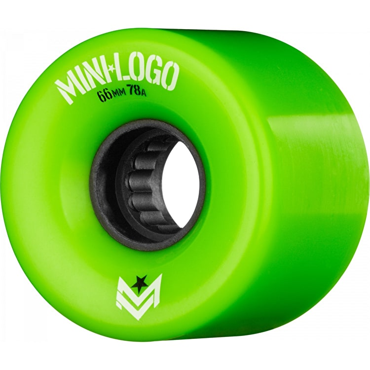 Mini Logo A-Cut A.W.O.L. 78a Skateboard Wheels - Green 66mm (Pack of 4)
