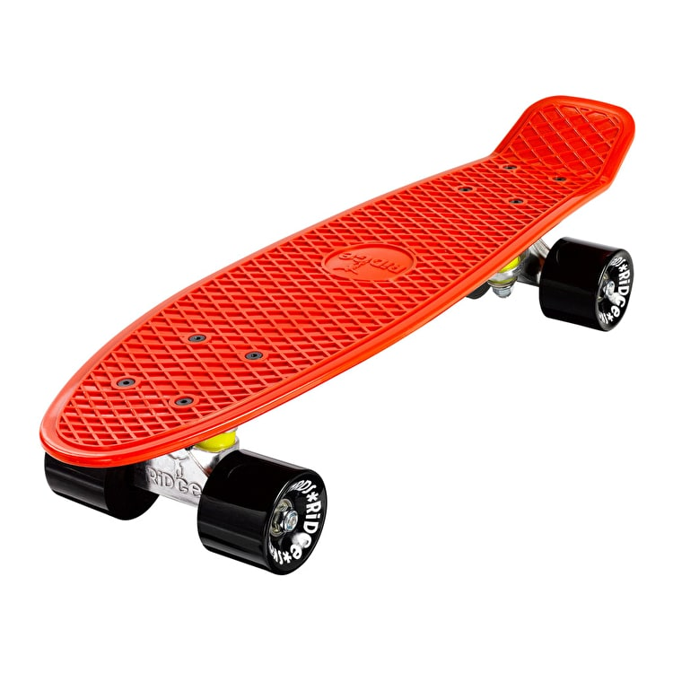"Ridge 22"" Mini Organic Complete Cruiser Skateboard - Burnt Orange"
