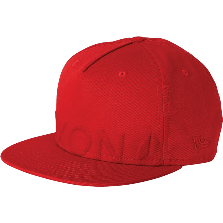 Nixon Ira Fitted New Era Fitted Cap - Red