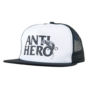 Anti Hero Dog Hump Trucker Cap - Black/White