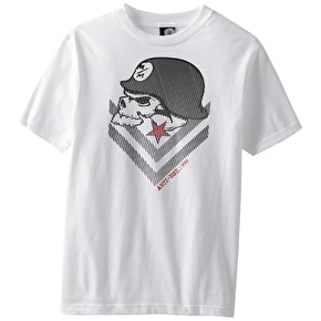 Metal Mulisha Brain T-Shirt - White