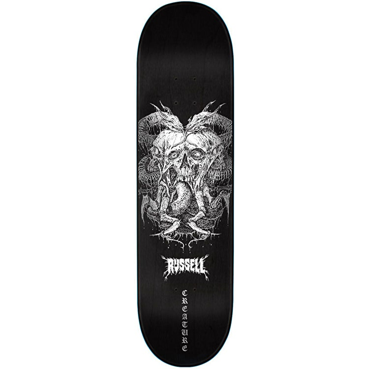 "Creature Death By Furnace Skateboard Deck - 8.5"" Russell"