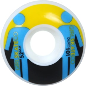 Girl Giant OG 101A Skateboard Wheels - 52mm (Pack of 4)