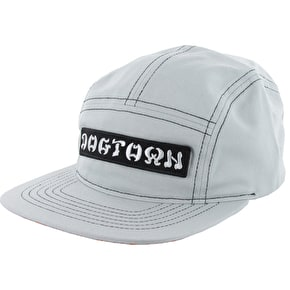 Dogtown Raven Volley Strapback Cap - Pearl