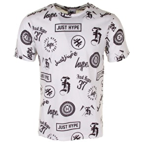 Hype Various Logos Sublimated T-Shirt