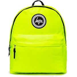 Hype Yellow Fluro Backpack - Yellow