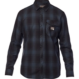 Fox Voyd Flannel Shirt - Navy