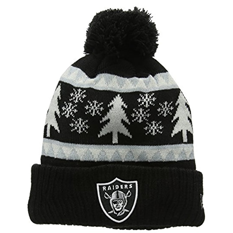 New Era Team Snow Pine Beanie - Oakland Raiders