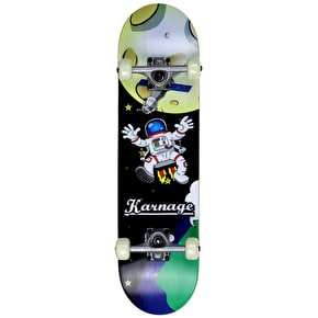 Karnage 29'' Complete Skateboard - Spaceman Black