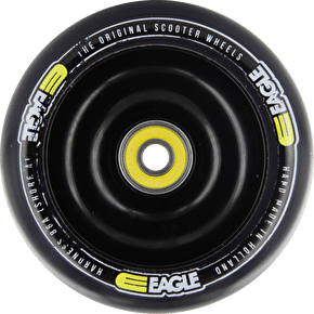 Eagle Black Anodized Full Core Black PU Wheel - 100mm