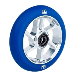 UrbanArtt S7 110mm Wheel - Chrome/Blue
