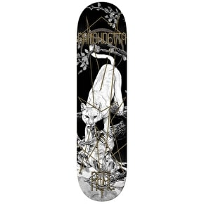 Real Forest Friend Ramondetta Skateboard Deck - Black 8.06