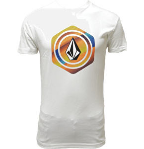 Volcom Hexstone Basic Kids T-Shirt - White