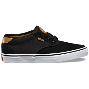 Vans Chima Estate Pro Shoes - Black/White/Tan