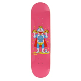 Pizza Skateboards PBR X Pizza Skateboard Deck - Pink - 8